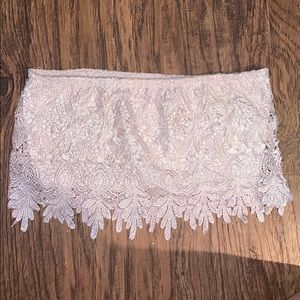 LF Lacy Tube Top